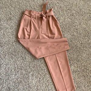 Top shop paper bag pants